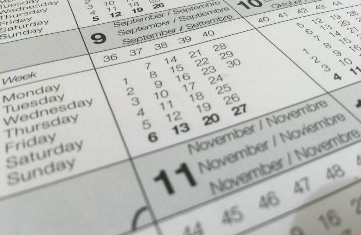 District 65 Calendar